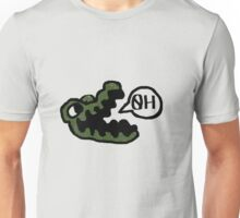 gator made out of tiny peppers Unisex T-Shirt