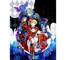Red & blue shades (Pandora Hearts) Photographic Print
