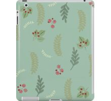 Spring and Summer Botanical leaves, berries, nature iPad Case/Skin
