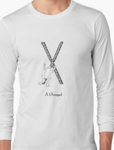 X is for Xenopus Long Sleeve T-Shirt