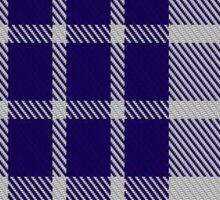 00471 Buchanan Dress Blue Dance Tartan  Sticker