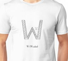 W is for Wombat Unisex T-Shirt