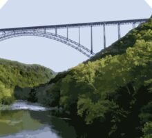New River Gorge National Scenic River Sticker