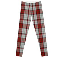 00472 Bull-Dog Sauce Tartan  Leggings
