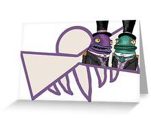 Oscars Hotel Norbert & Albert Character Print Greeting Card