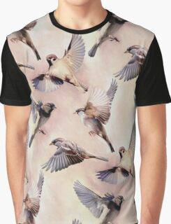 Sparrow Flight Graphic T-Shirt