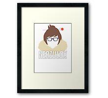 Mei - Nerzulox Framed Print