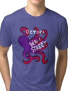 Octopi Wall Street Tri-blend T-Shirt