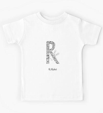 R is for Rabbit Kids Tee