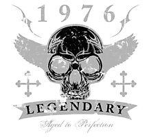 Legendary 1976 Skull Photographic Print