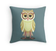 AFTER VISITING OPTOMETRIST Throw Pillow