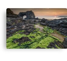Pollet Great Sea Arch - Fanad Co Donegal Canvas Print