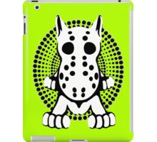 Hockey Mask Bull Terrier Sprawl  iPad Case/Skin