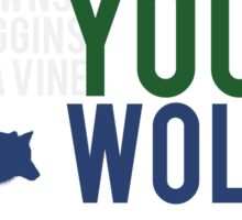 YOUNG WOLVES Sticker