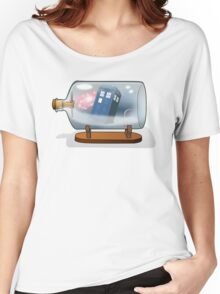 Tardis in a bottle Women's Relaxed Fit T-Shirt