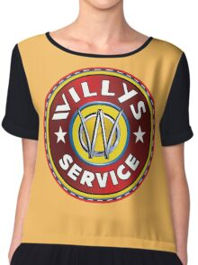 Willys Overland Jeep Chiffon Top