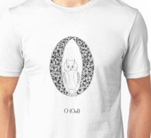 O is for Owl Unisex T-Shirt