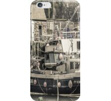 Fishing Boat - Cornwall iPhone Case/Skin