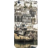Village Harbour - Cornwall iPhone Case/Skin