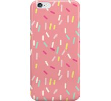Sprinkles in Pink iPhone Case/Skin