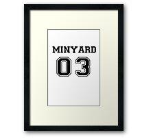 ANDREW MINYARD Framed Print