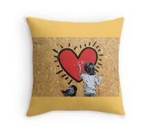 MUralS Throw Pillow