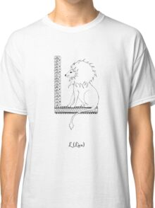 L is for Lion Classic T-Shirt