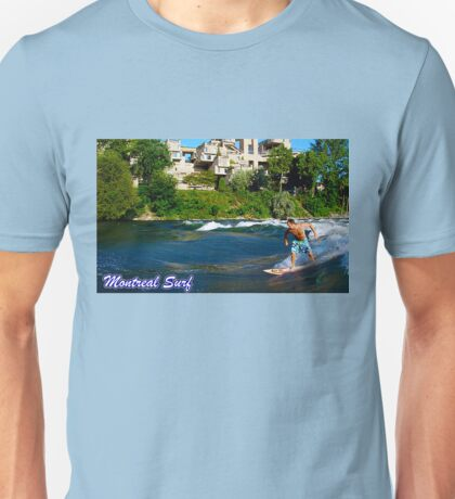 Surf Montreal Unisex T-Shirt