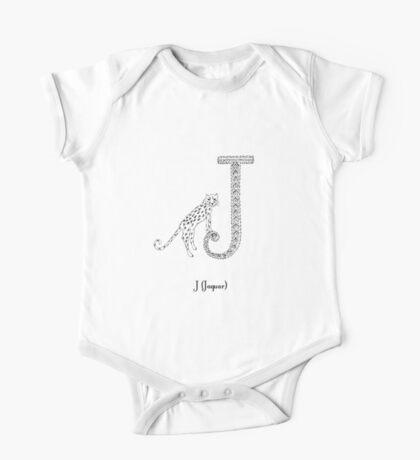 J is for Jaguar One Piece - Short Sleeve