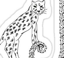 J is for Jaguar Sticker