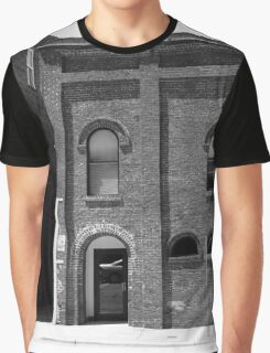 Burlington, North Carolina - Arches and Alley Graphic T-Shirt