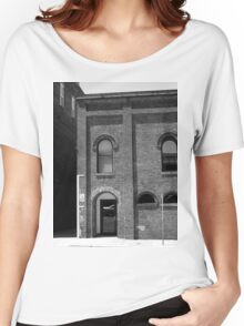 Burlington, North Carolina - Arches and Alley Women's Relaxed Fit T-Shirt