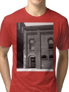 Burlington, North Carolina - Arches and Alley Tri-blend T-Shirt