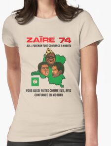 Zaïre 74 Womens Fitted T-Shirt