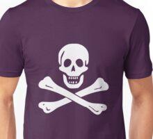 JOLLY ROGER-WHITE Unisex T-Shirt