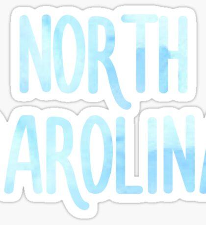 University of North Carolina Sticker