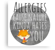 allergies /Agat/ Canvas Print