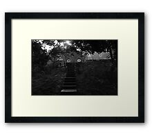 Cromarty Primary Through The Trees Framed Print