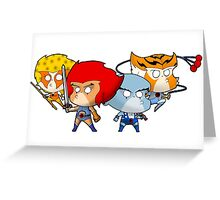 Thundercats Chibi Greeting Card