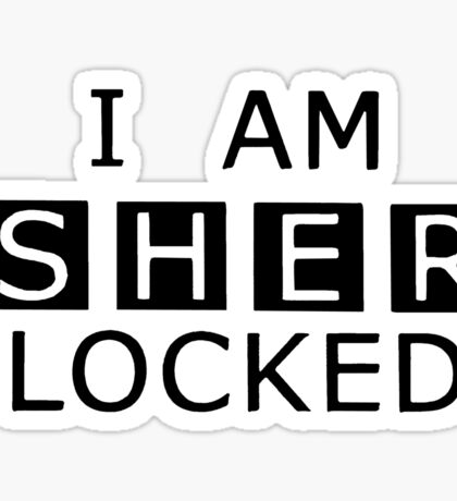 Sherlocked Sticker