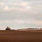 Ploughing finished..... by Billlee