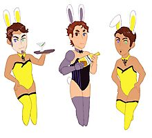 Hyperion Bunnies Photographic Print