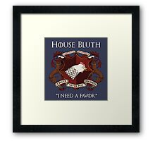 House Bluth Family Seal Framed Print