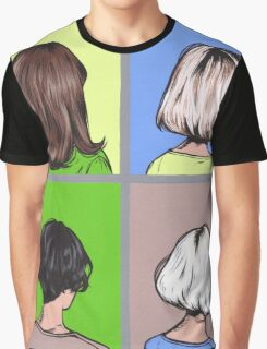 Lady Hairstyles  Graphic T-Shirt