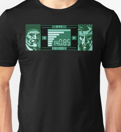 Metal Gear Solid Codec Sprite Unisex T-Shirt