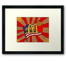 McDonald's Foodie Framed Print