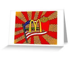 McDonald's Foodie Greeting Card
