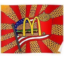 McDonald's Foodie Poster
