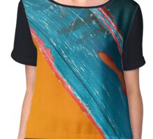 Color Abstraction LXII Chiffon Top