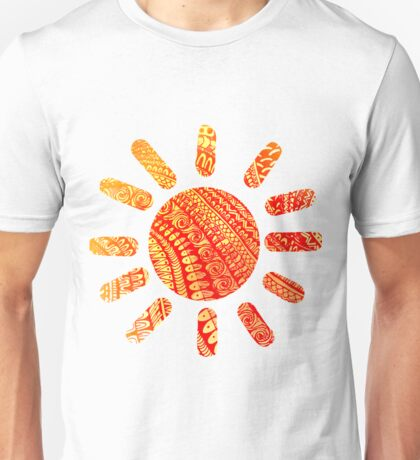 Sun Zentangle Unisex T-Shirt